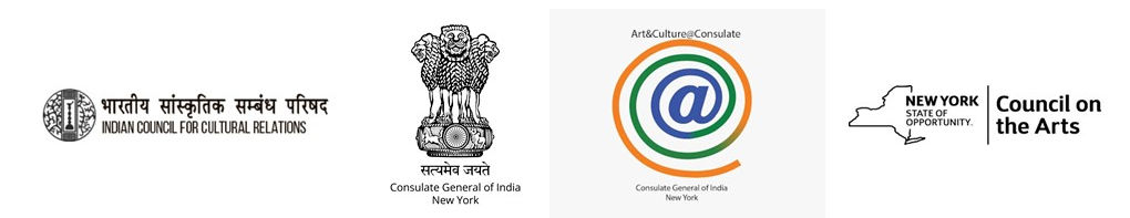 Partially sponsored by NYSCA and supported by Indian Consulate in NY and ICCR
