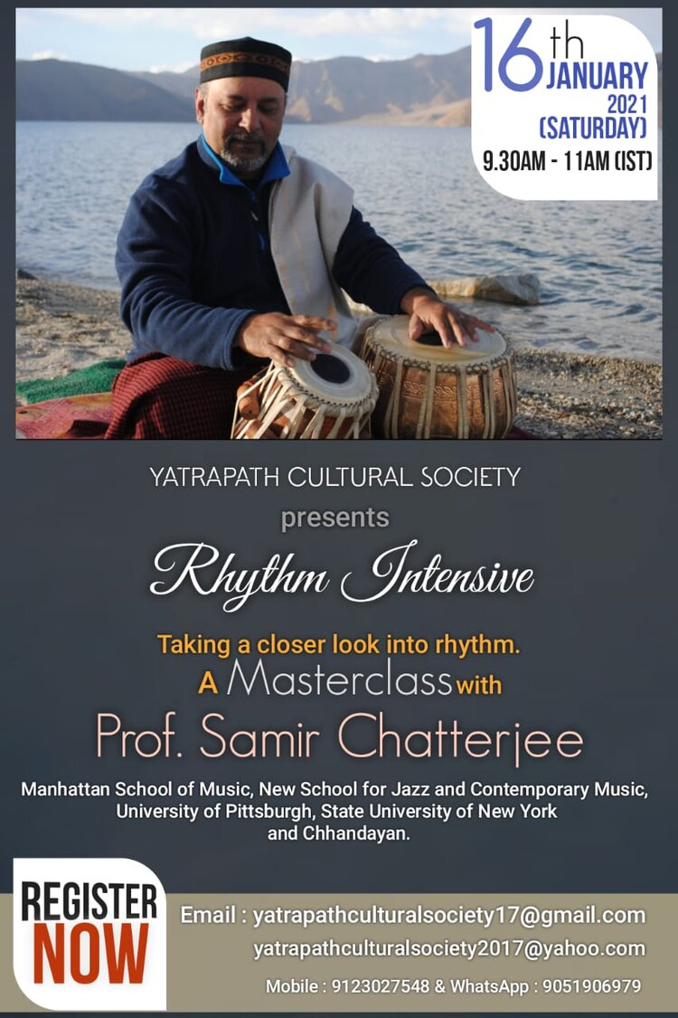 Rhythm Masterclass and Seminar