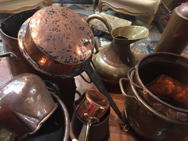 We just unpacked a beautiful new shipment of copper!!! Some pieces are 200 years old! Come shop Burns Antik Haus and let us help you with your Christmas list!!! 2195 Calder Ave, Beaumont, TX 77701, 409.835.3080