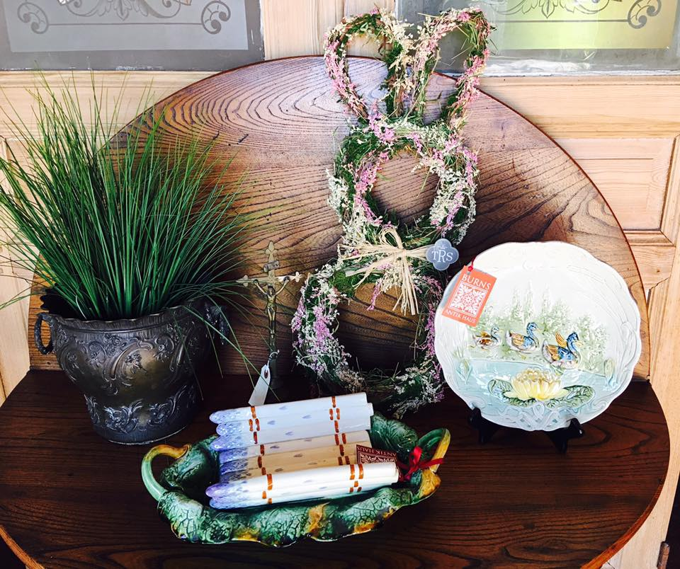 The Easter Bunny made an early stop at Burns Antik Haus! Come by and shop all of cute new Easter items before they are gone!!! 2195 Calder Ave, Beaumont Tx, 77701, 409.835.3080.  #burnsantikhaus  #europeanimporters  #shopsmall  #vintage  #easterhasarrived