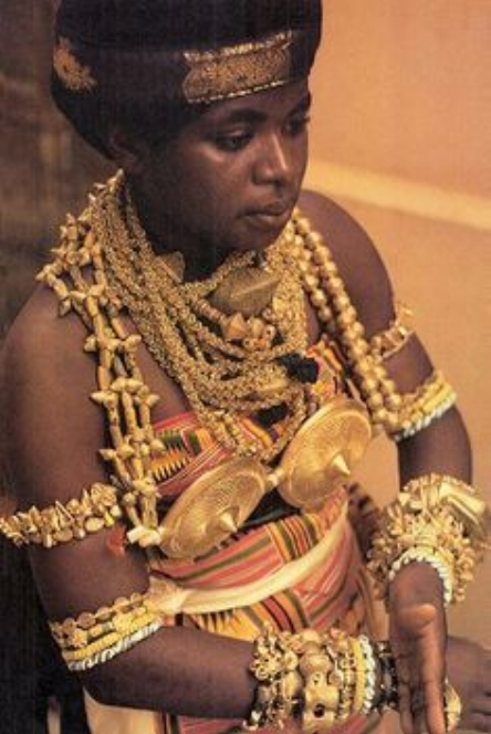 AKAN Woman from West Africa