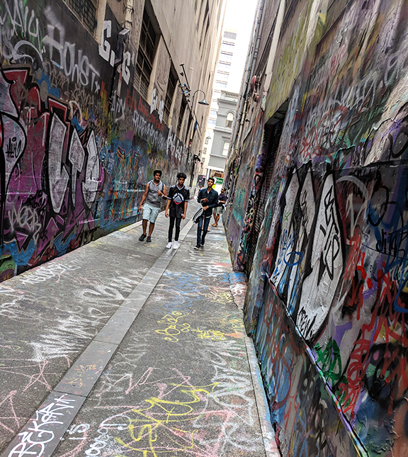Union Lane Melbourne CBD