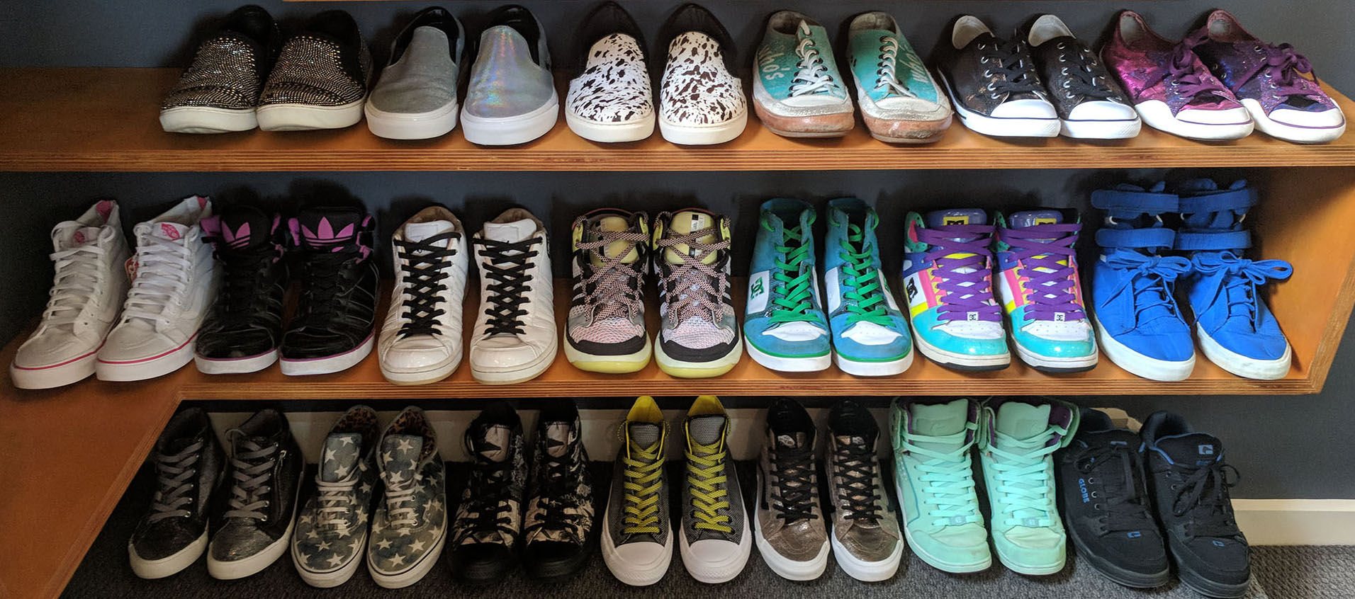 Warning: Serious sneaker enthusiast!