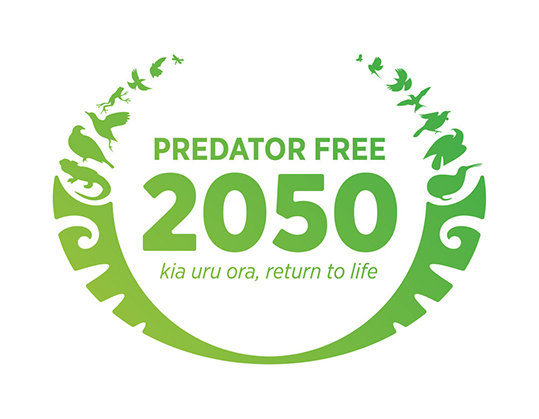 DoC have an initiative for NZ to be predator free by 2050
