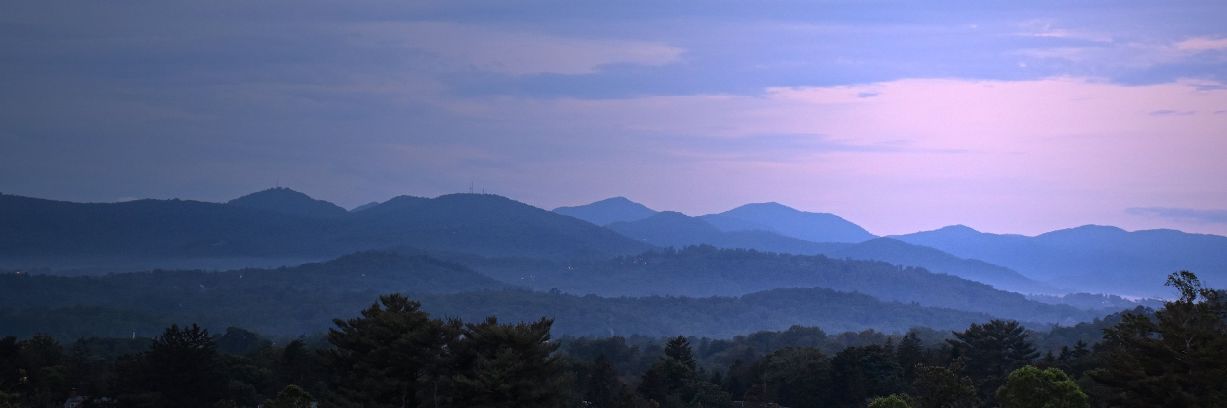 The Great SmokY Mountains of western north carolina - from asheville, nc - ultimate destination for mountain wedding ceremonies and events