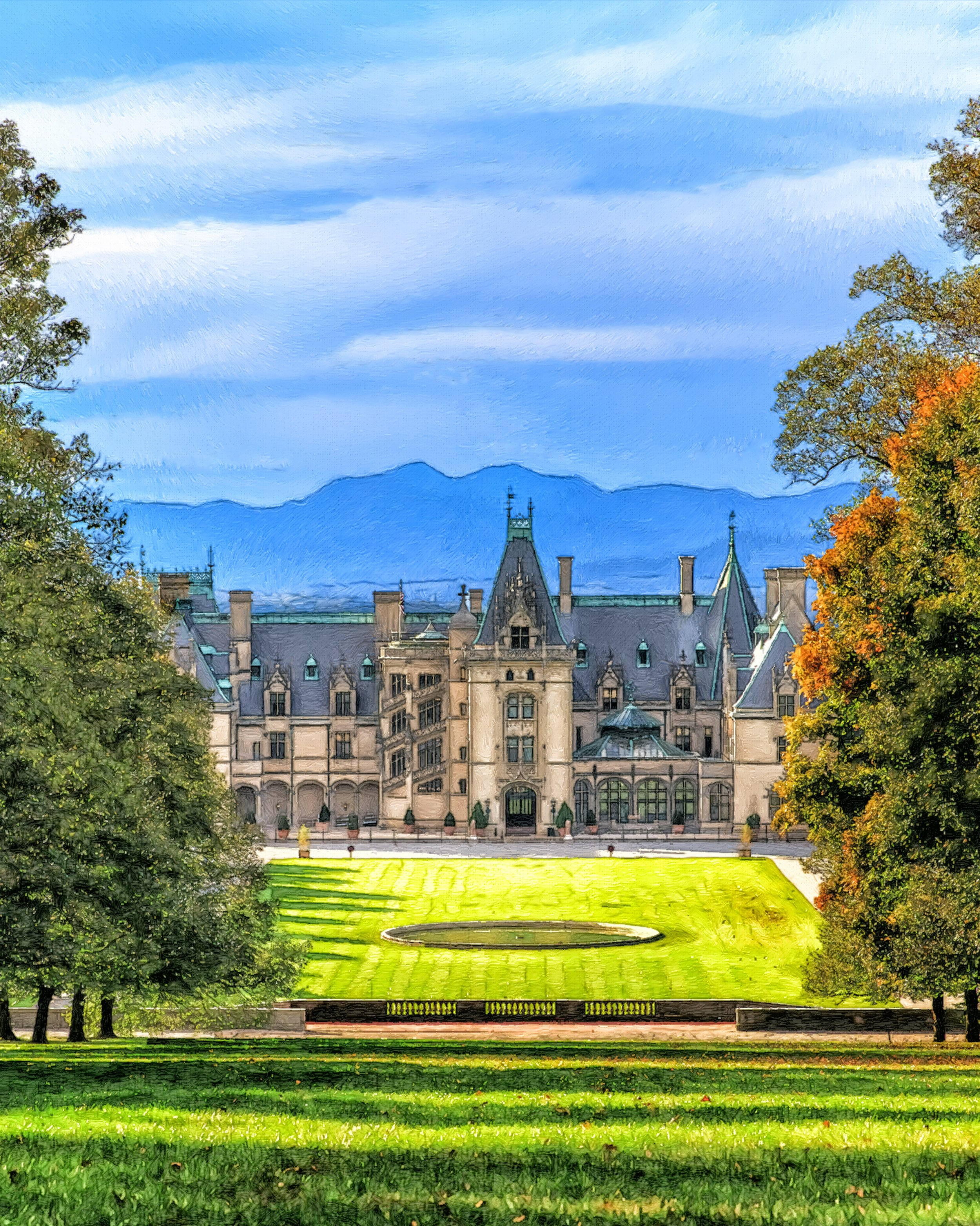 The biltmore estate, the largest privately owned home in america, and most popular wedding destination in asheville, north carolina.