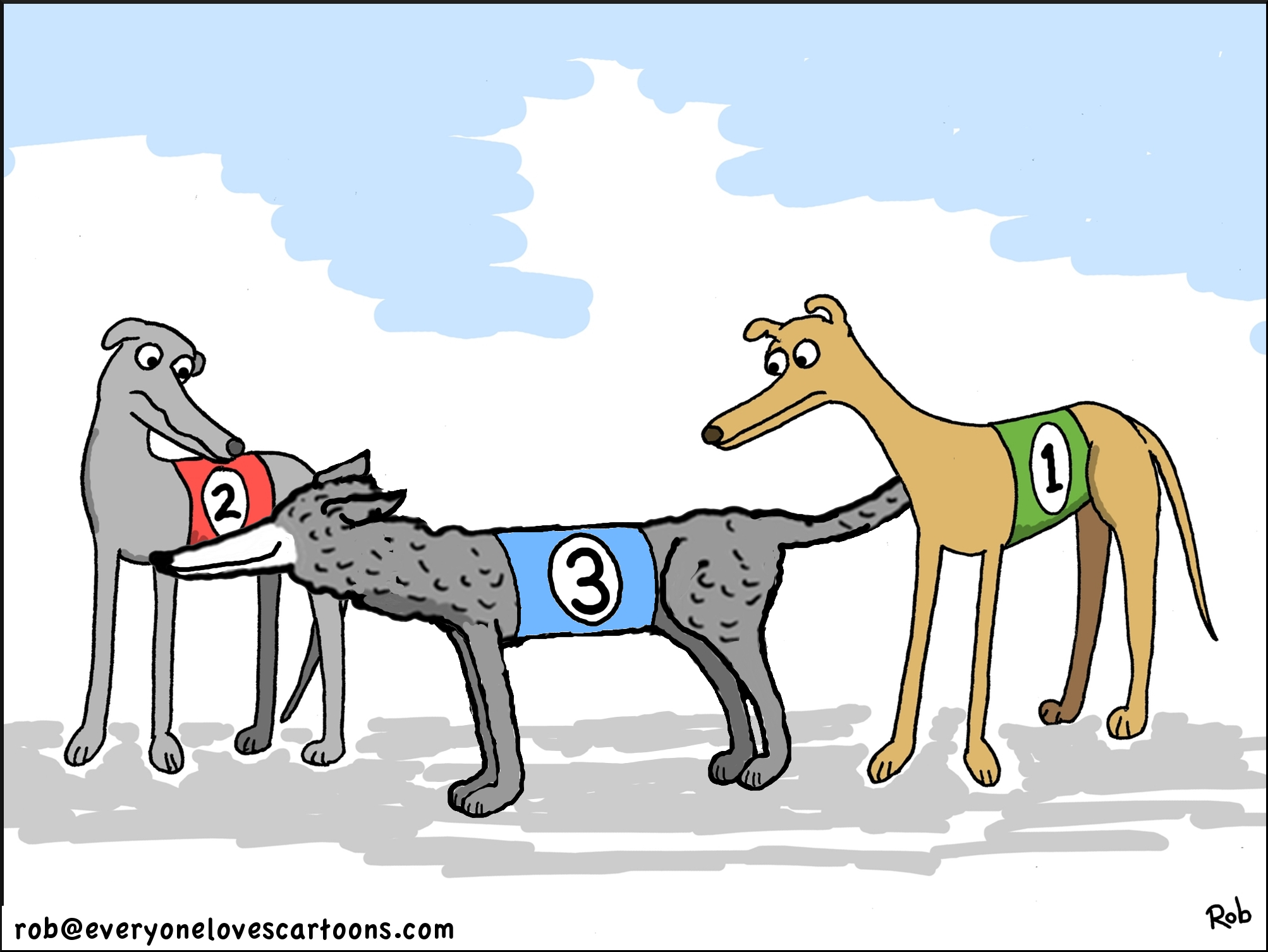 greyhound-racing-cartoon
