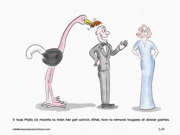 cartoon-ostrich