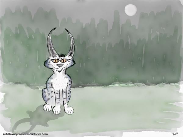 lynx cartoon