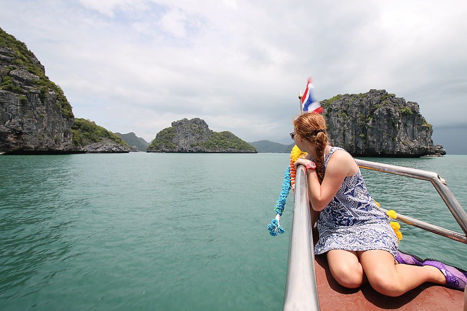 Orion Cruises to Ang Thong National park