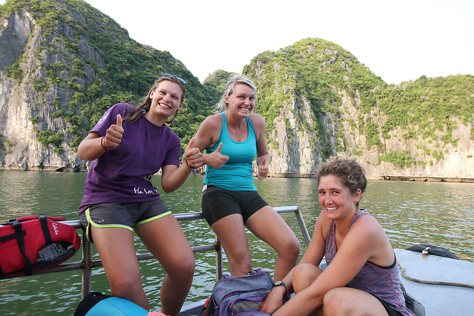 Girl power, these chicks were awesome! Couldn't have asked for better guides. Thanks girls, you rock!!!!! Louis, Caroline and Leah from Asia Outdoors.