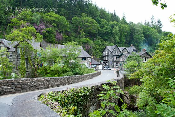 Betws y Coed is an all year tourist destination