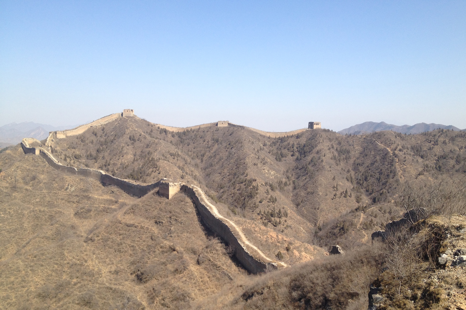 While living in Beijing Heidi was a member of Beijing hikers. Many sundays she spent hiking on the great wall of China.