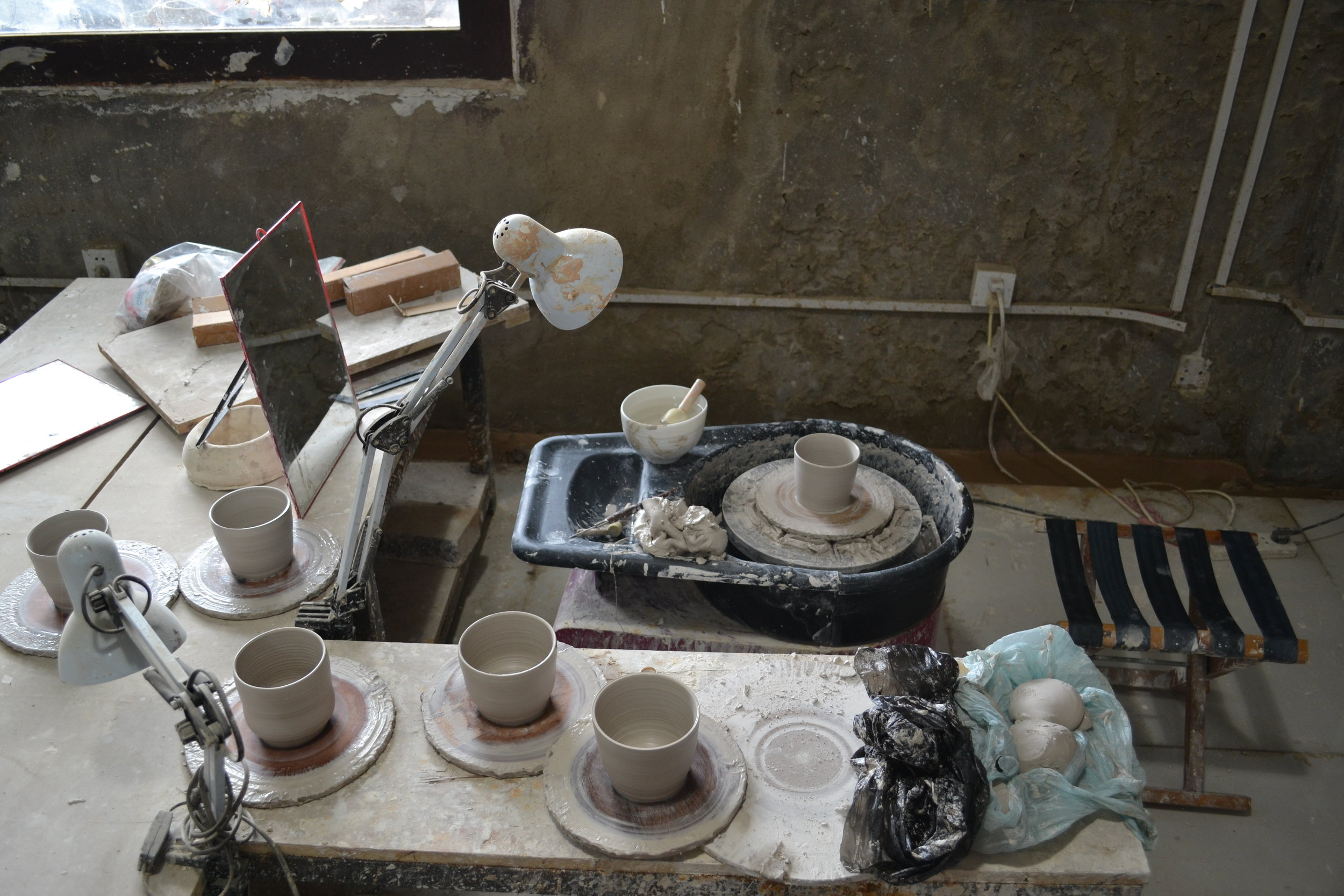 Best porcelain from the ceramic city of Jingdezhen.
