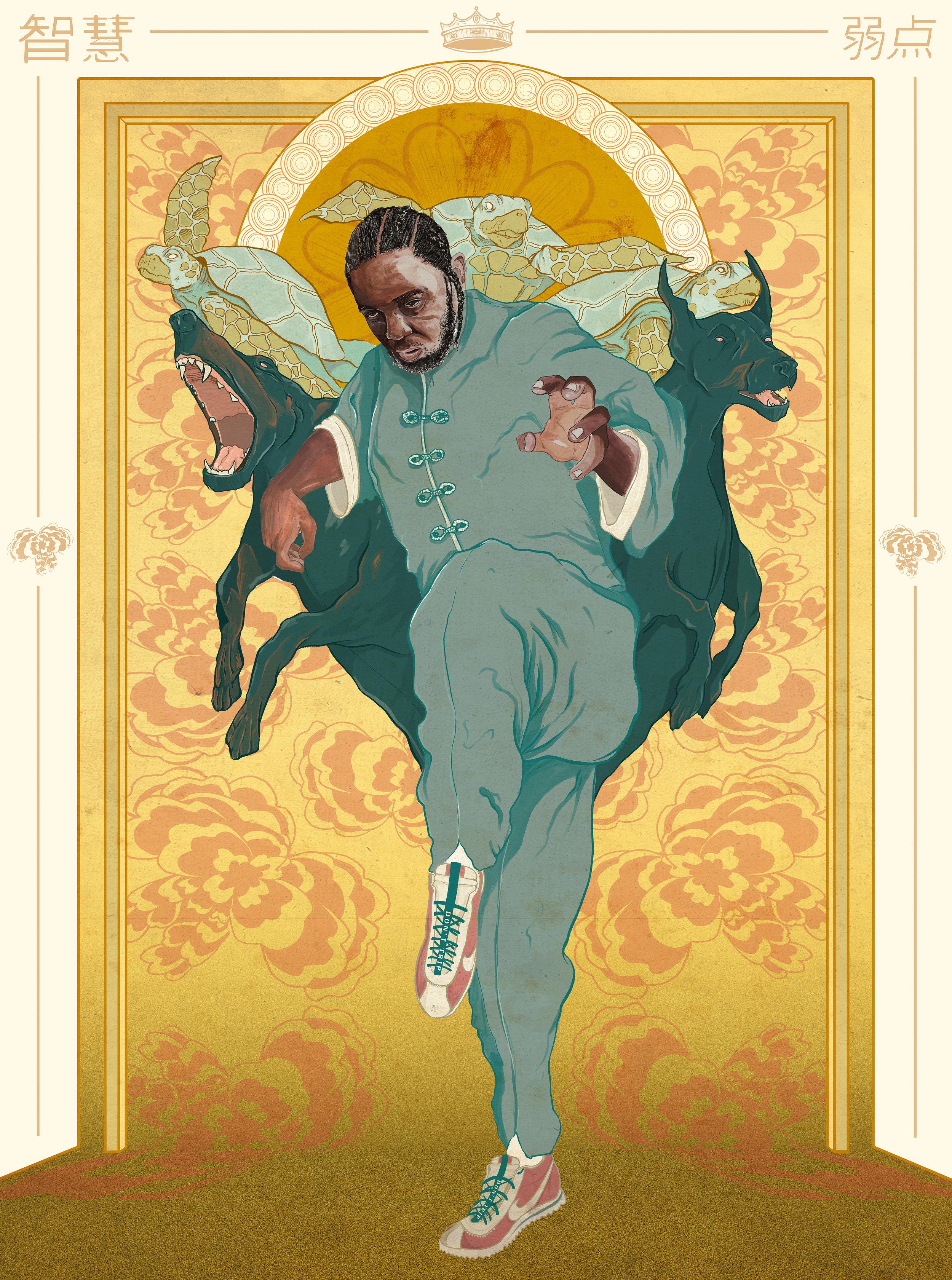 Kung Fu Kendrick Lamar