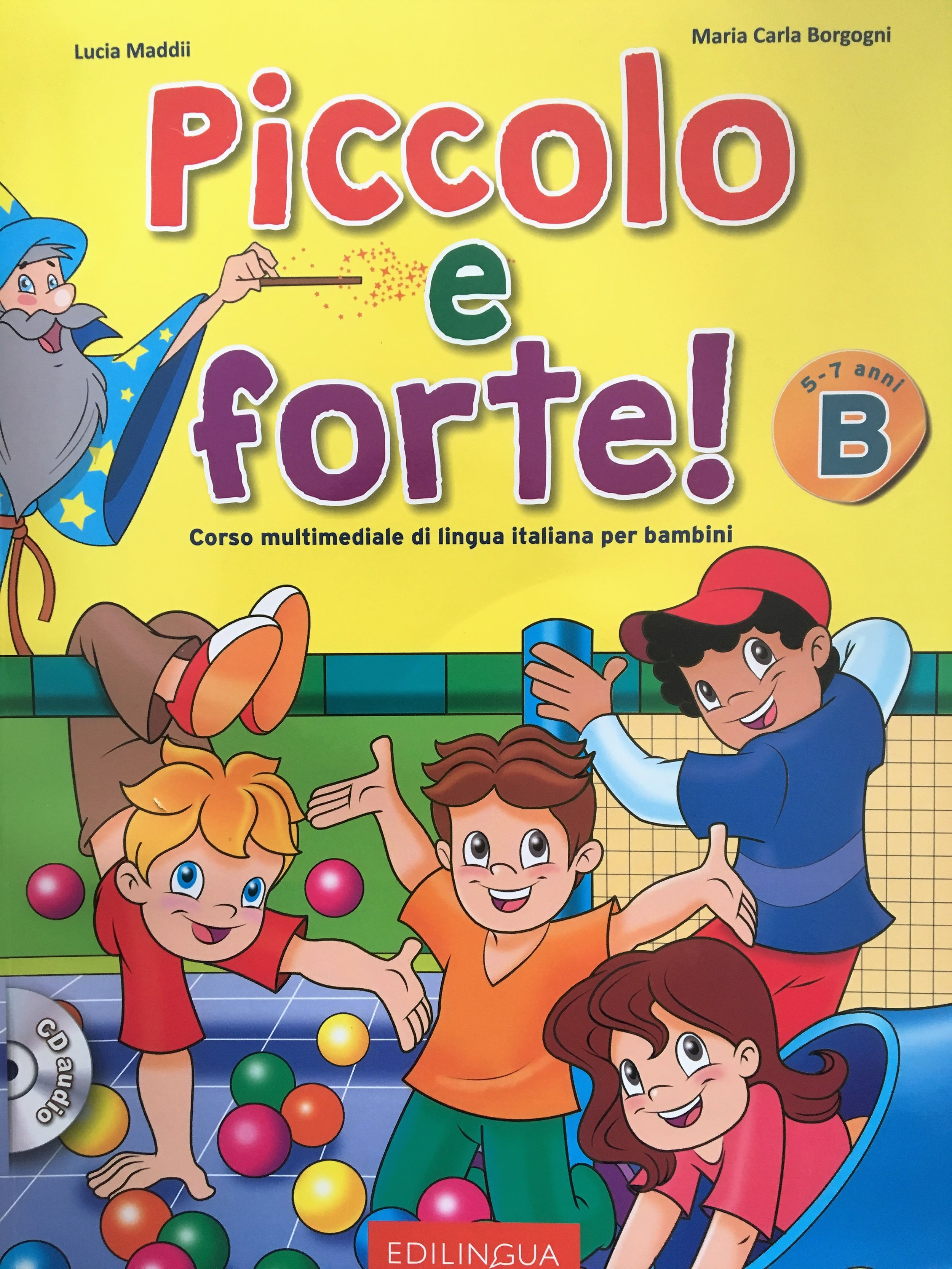 ITALIAN COURSE FOR CHILDREN 5-7 YEARS OLD