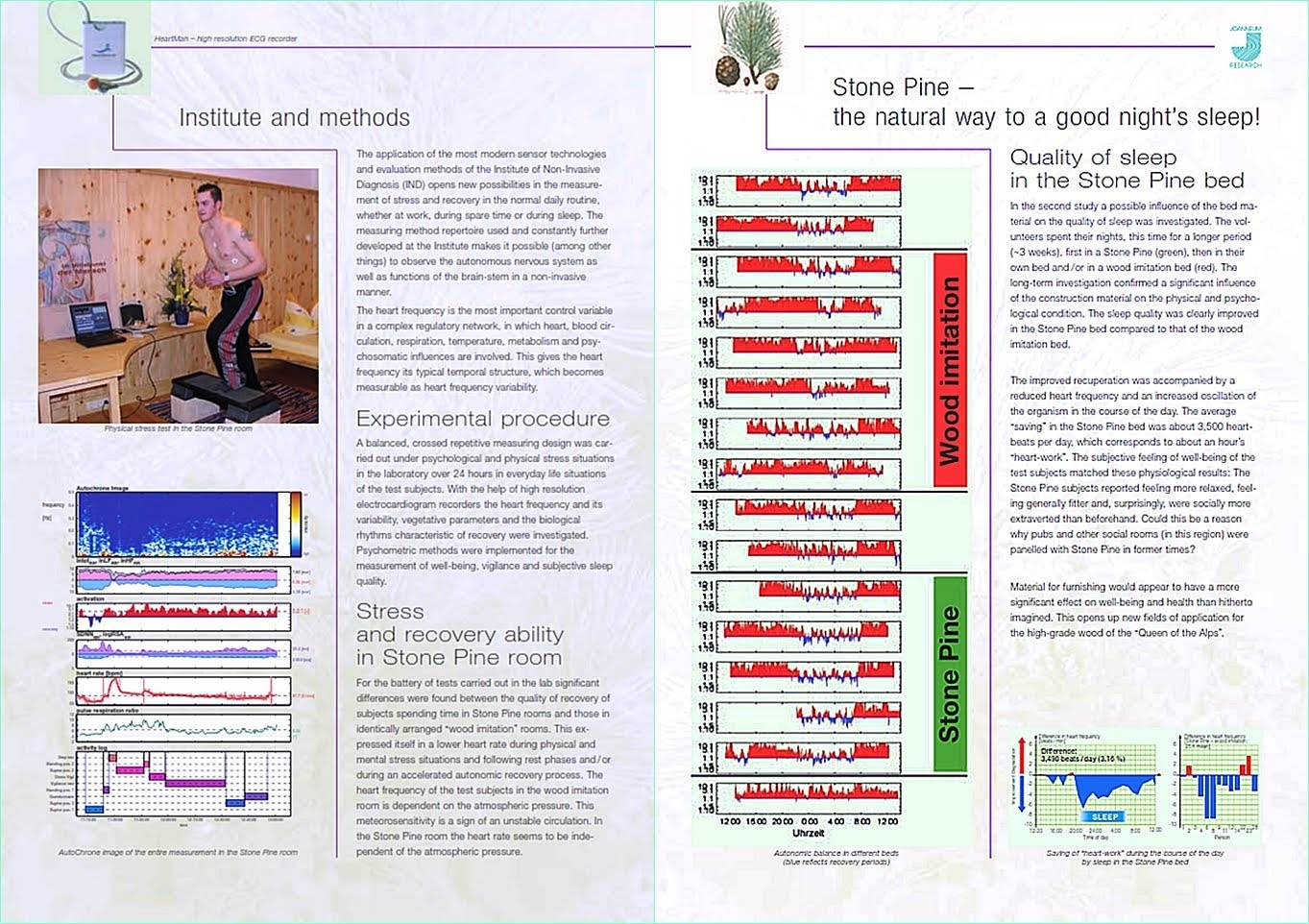 Swiss Stone Pine - The research study by Joanneum Research