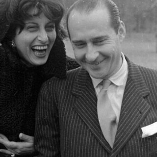 Italian actress Anna Magnani and film maker Roberto Rossellini - SOURCE: Comune di Furone