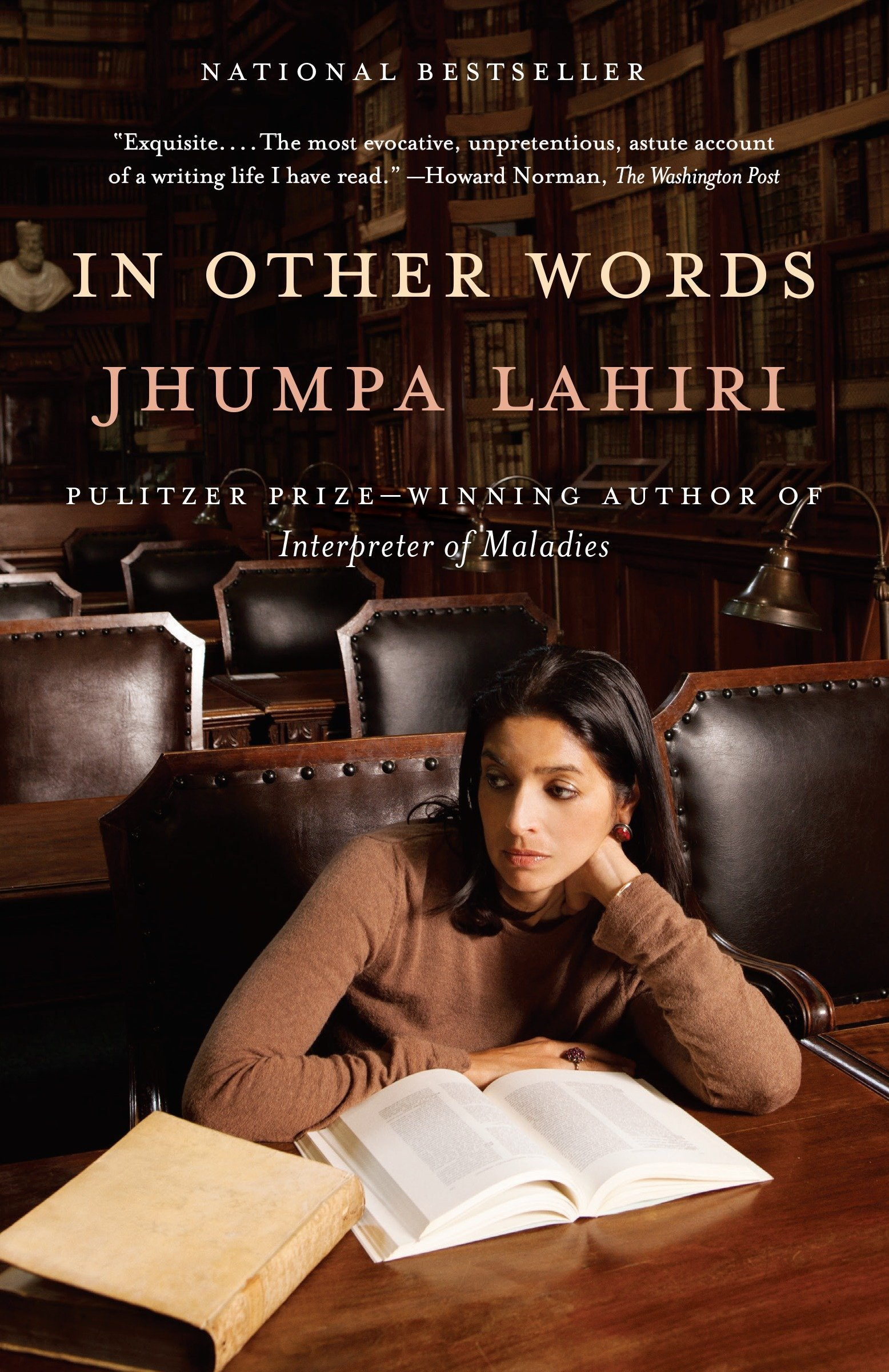 "IN OTHE WORDS - BY JHUMPA LAHIRI - Presented in a dual-language format : English and Italian.In Other Words is at heart a love story—of a long and sometimes difficult courtship, and a passion that verges on obsession: that of a writer for another language. For Jhumpa Lahiri, that love was for Italian, which first captivated and capsized her during a trip to Florence after college.And although Lahiri studied Italian for many years afterward, true mastery had always eluded her. So in 2012, seeking full immersion, she decided to move to Rome with her family, for ""a trial by fire, a sort of baptism"" into a new language and world .In Rome, Lahiri began to read, and to write—initially in her journal—solely in Italian. In Other Words, investigates the process of learning to express oneself in another language, and describes the journey of a writer seeking a new voice.Suggested for: Beginners, Elementary, Intermediate and Advanced Italian students."