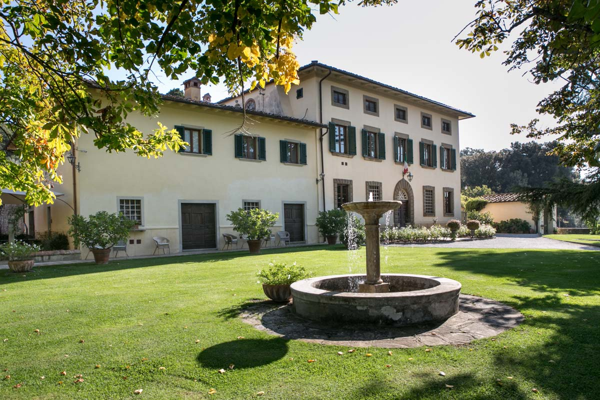 TOSCANA -    VILLA BELPOGGIO     HISTORIC HOUSE HOTEL
