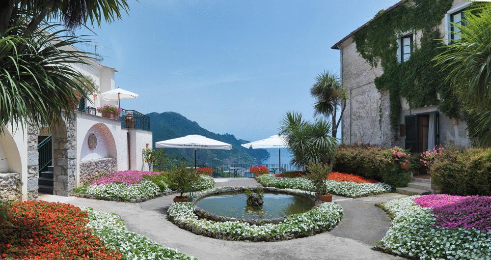 CAMPANIA - RAVELLO    HOTEL PARSIFAL
