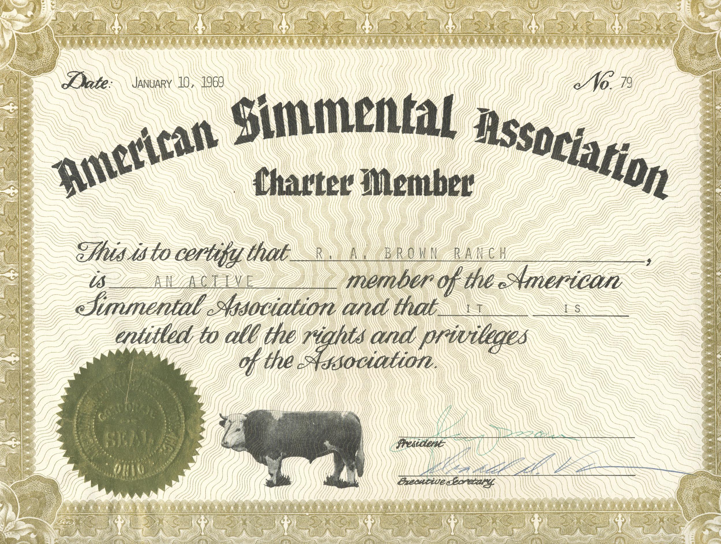 ASA Charter #79