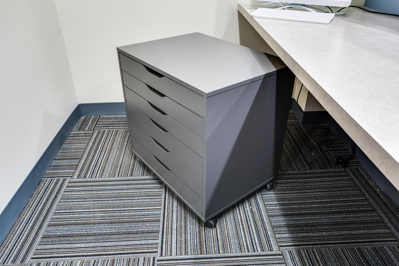 Modular drawers for easy start-of-day setup