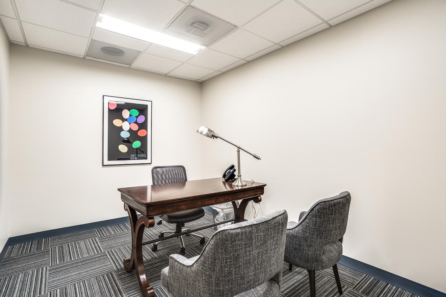 Doctor's private consultation room