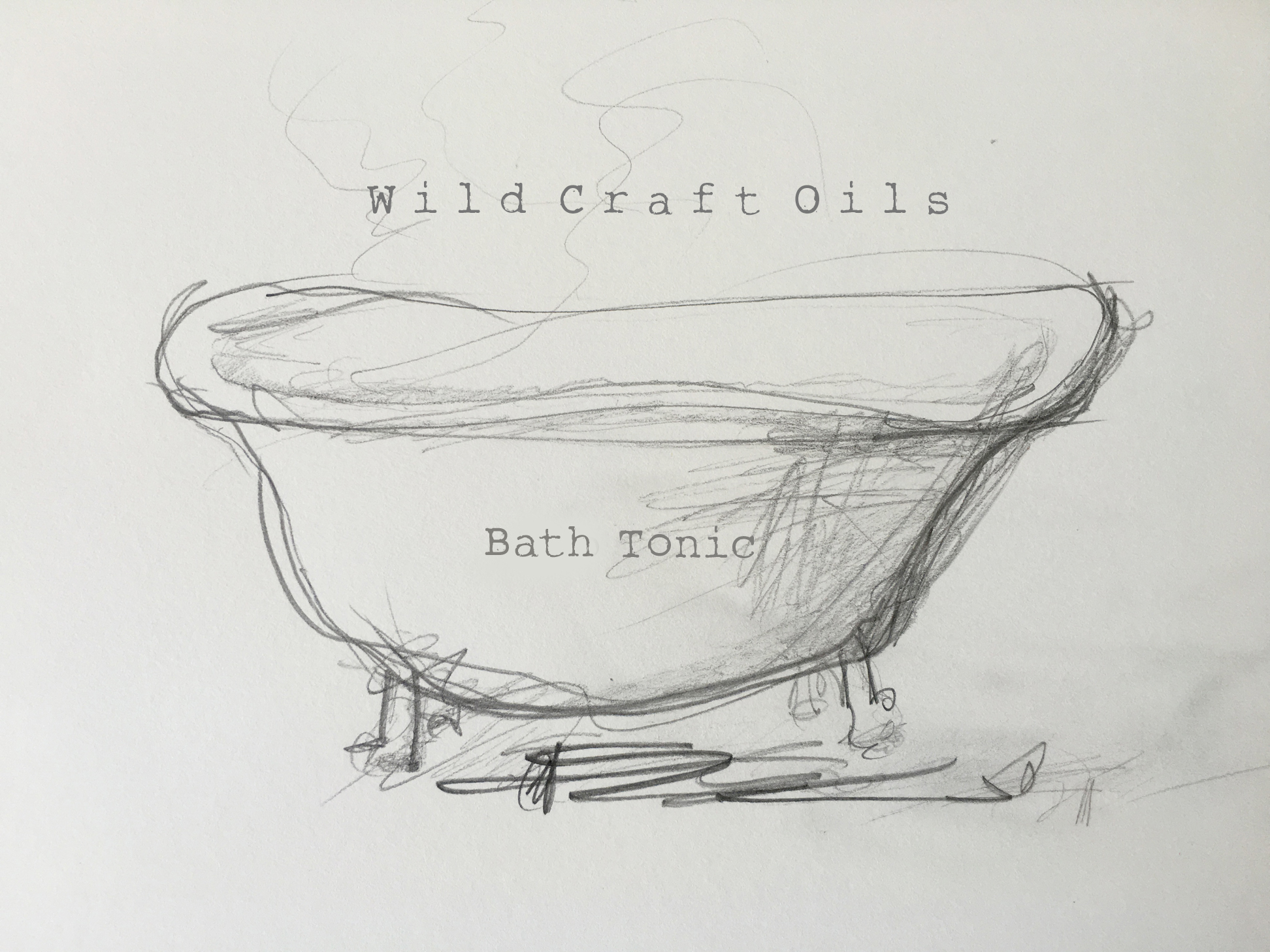 Wild Craft Oils | All Natural Hydrosol Tub Tonic | Encinitas, Ca.