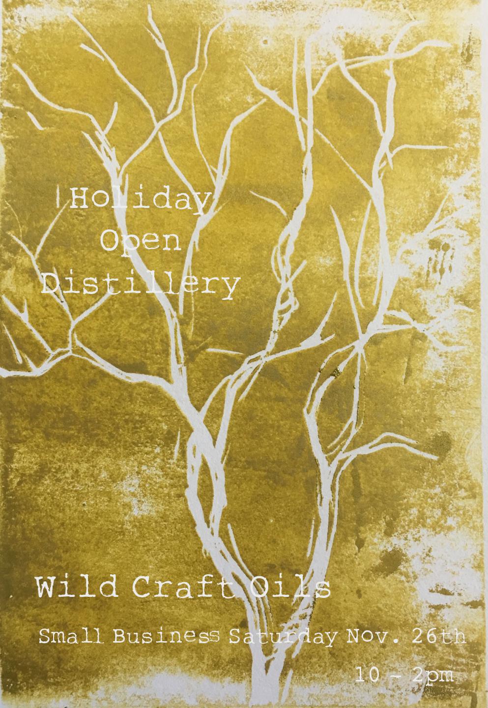 Holiday Open Distillery - Wild Craft Oils - Encinitas