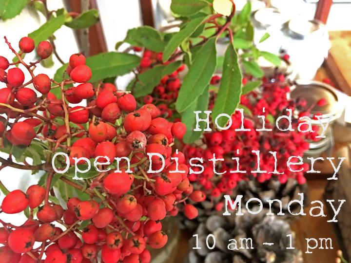 Holiday Open Distillery - Wild Craft Oils - Encinitas, Ca.
