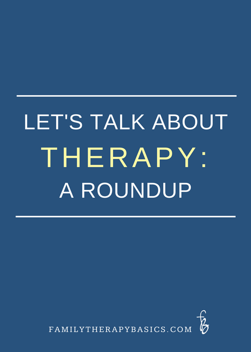 Let's Talk About Therapy