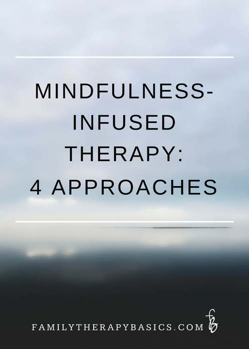Mindfulness-infused therapy: Four Approaches