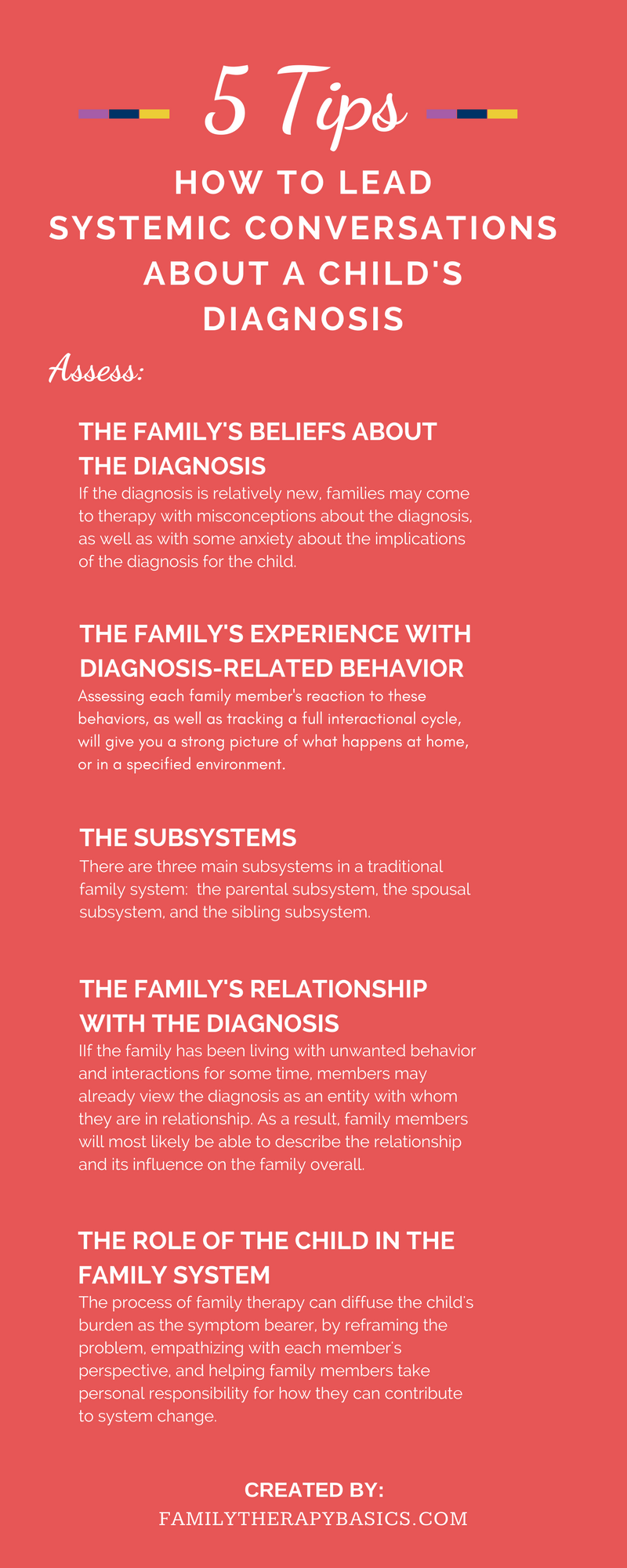 Systemic Conversation Child Diagnosis Family Therapy