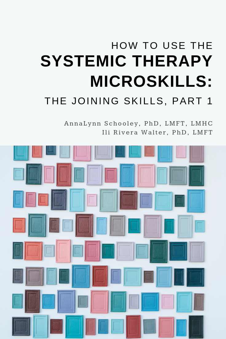 Systemic Therapy MicroSkills, Part 1 | Family Therapy Basics