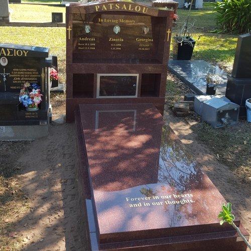 Monument Tombstone