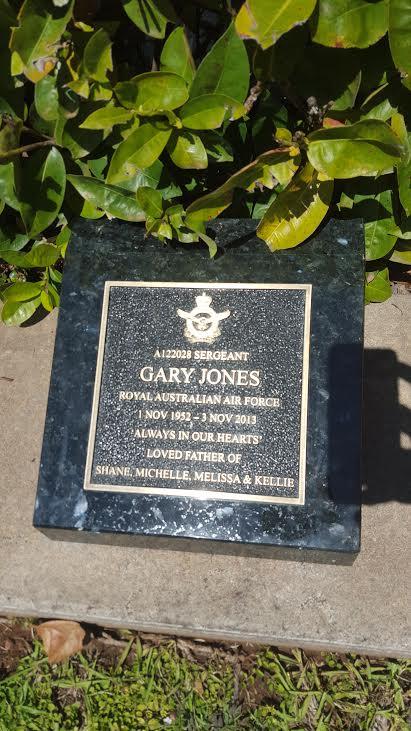 Granite with Bronze Plaque