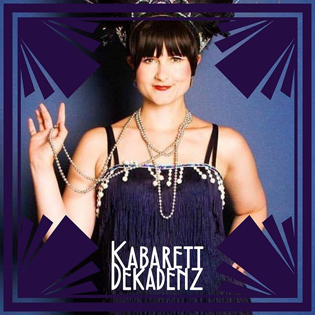 🦜 @birdiebynight has been with the Kabarett Dekadenz variety team since the beginning - it feels like it's been a hundred years 😉 See her this Thursday with @fishnetfollies at @legionnaire510 - ticket link in bio. 💜 #fishnetfollies #showgirl #burlesque #oaklandnightlife #livemusic #liveentertainment