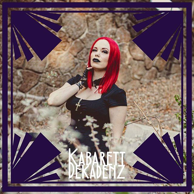 You may know her as the Striptease Comedienne, but TONIGHT she's getting serious as all hell for you! Don't miss #KabarettDekadenz with @fishnetfollies - 9 pm doors, 10 pm show at @legionnaire510 in Oakland. #fishnetfollies #liveband #burlesque #showgirl #oaklandnightlife #goth #liveentertainment