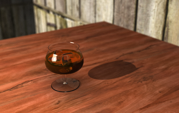 Rendered snifter.