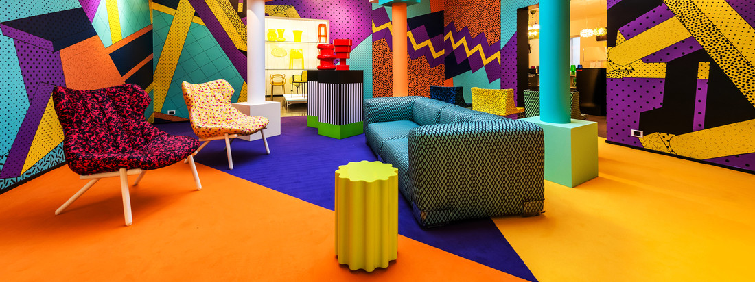 Kartell goes Sottsass - A Tribute to Memphis -  https://www.youtube.com/watch?v=gSlrwDDfqpY