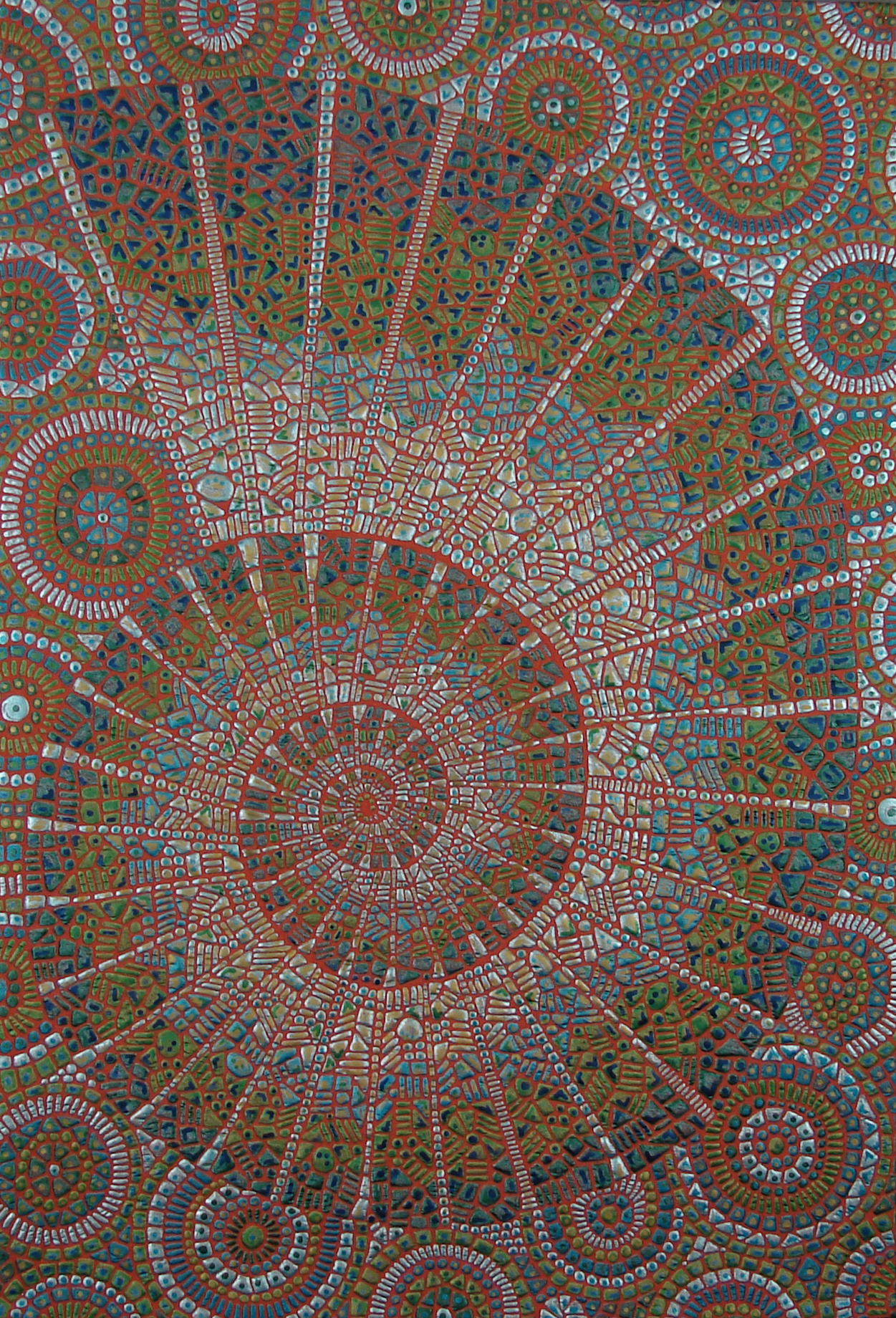 Copper Enamel Ammonite