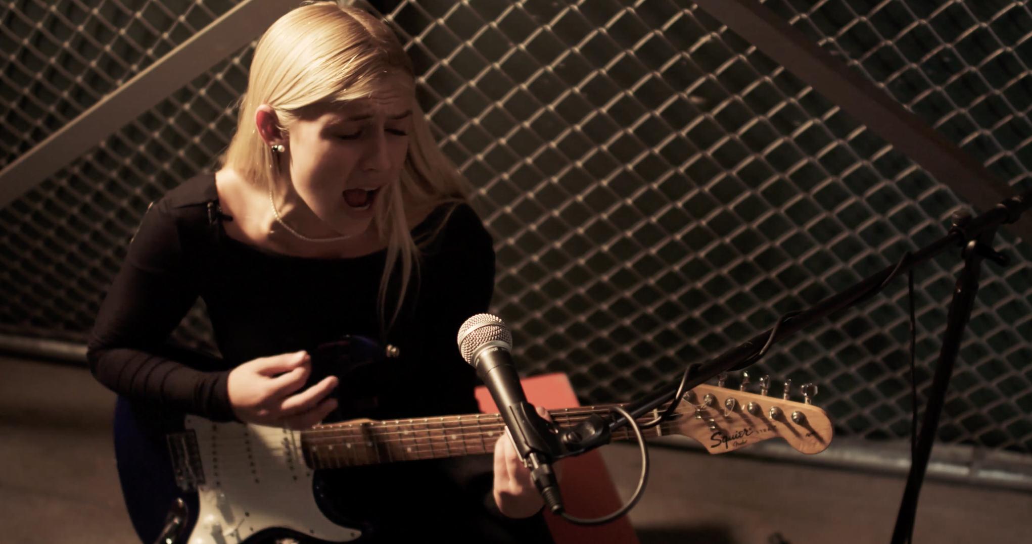 """Reel College: Emily Eddins sings """"Satisfaction"""""""