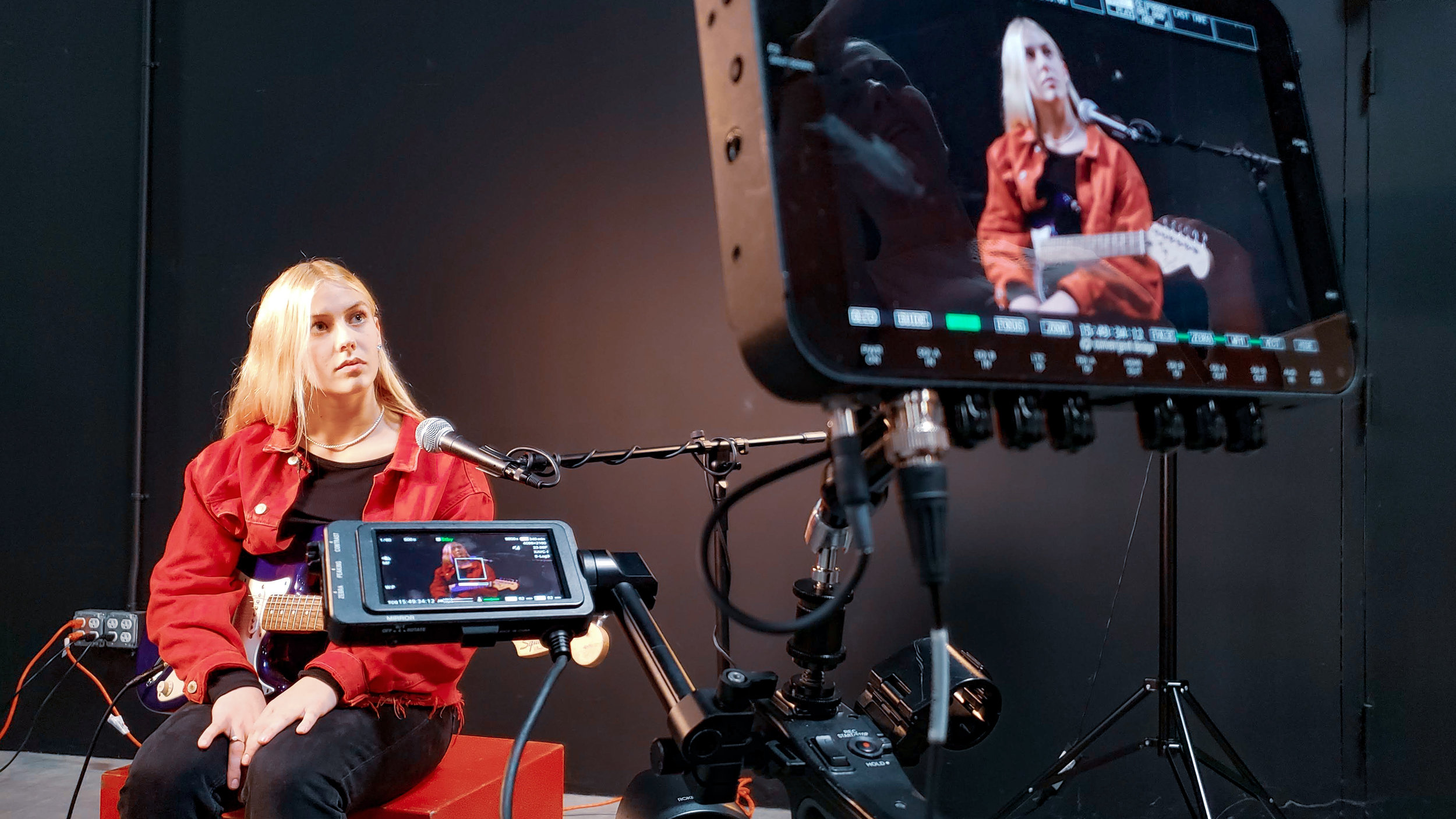 Reel Submissions - For performing arts college applicants ready to outshine the competition with professional pre-screen videos & on-camera coaching