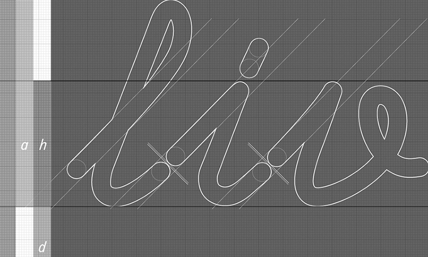 illy font study