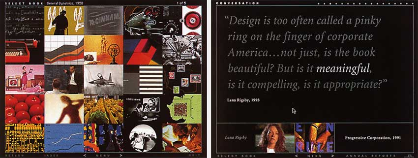 """The Mead Annual Report Show """"Forty Years of Ideas"""" CD-ROM Danny Yount"""
