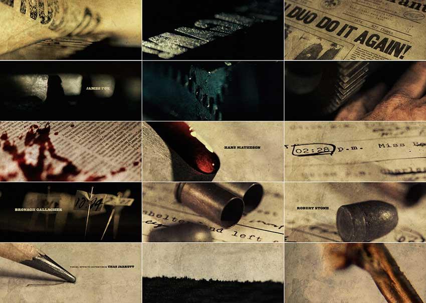 Early Sherlock Holmes printing press storyboard concept