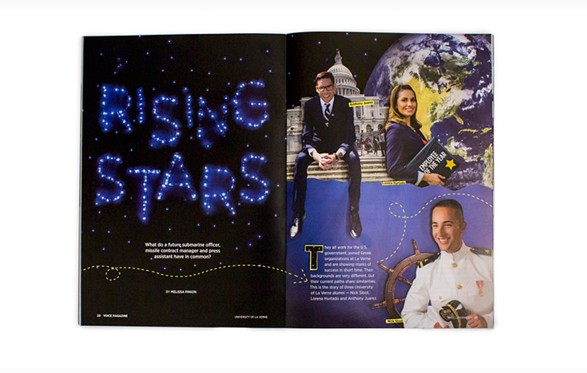 Rising Stars article in the Spring edition of VOICE.