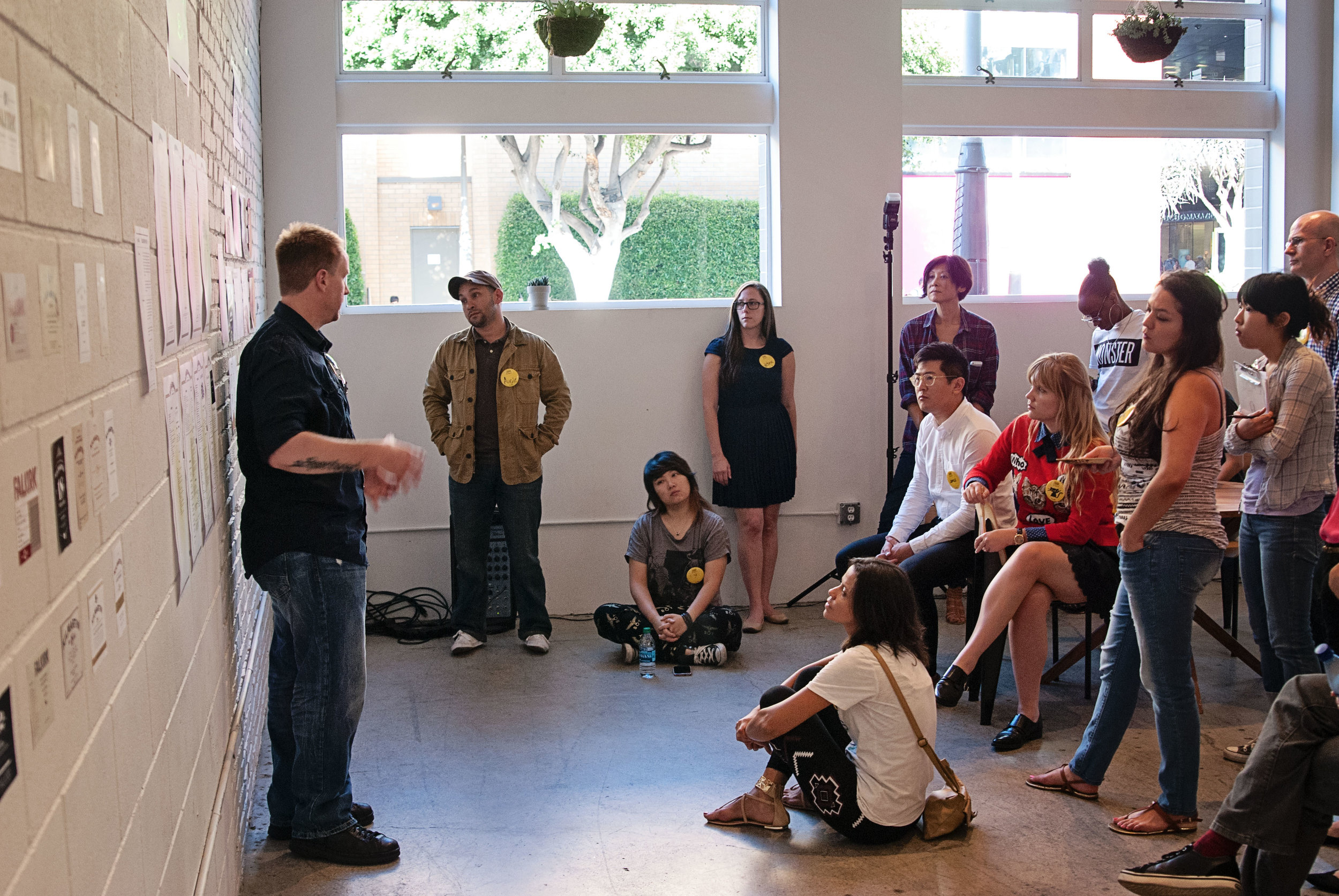 TypeEd Final Crit at General Assembly Santa Monica   |  Photograph by Jen Parker