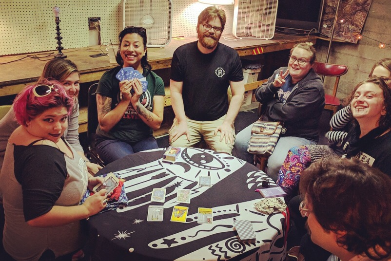 Tarot Card Social  with Storytime Psychic Alliance at Edge of the Circle Books